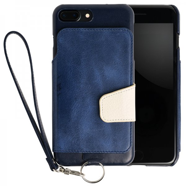RAKUNI(ラクニ)for iPhone 7/8 Plus インディゴ(Indigo)