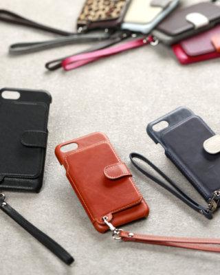 ラクニ iPhone7ケース iPhone8ケース 背面手帳