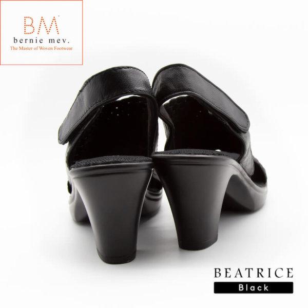 Bernie mev.(バーニーメブ)Beatrice(ベアトリアス)Black(ブラック)楽に歩ける7.5cm足長ヒールサンダル